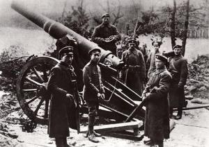 Powstanie wielkopolskie - artyleria