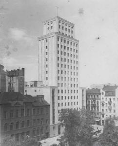Budynek Prudentialu przed II wojną światową
