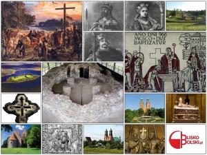 Chrzest Polski Grafika