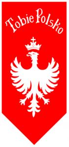 Flaga Powstańcow śląskich