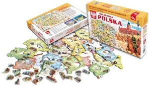 Gra Układanka Polska