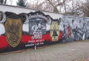 Graffiti - Żołnierze Wyklęci - Kalisz