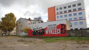 Graffiti - Żołnierze Wyklęci - Piła