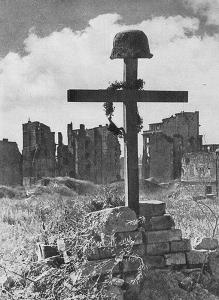 Grób Powstańca warszawskiego na Czerniakowie