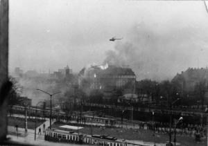 Grudzień 1970 Gmach KW PZPR w Gdańsku