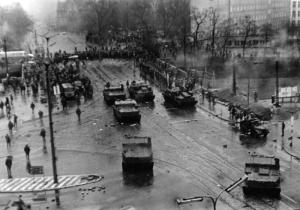 Grudzień 1970 Wojsko na ulicach