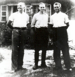 Jan Redzej, Witold Pilecki, Edward Ciesielski