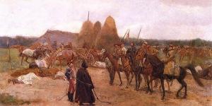 Józef Chełmoński - Epizod z Powstania z 1863 roku