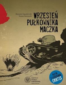 """Komiks """"Wrzesień pułkownik Maczka"""""""