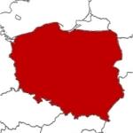 Mapa Polski 1945