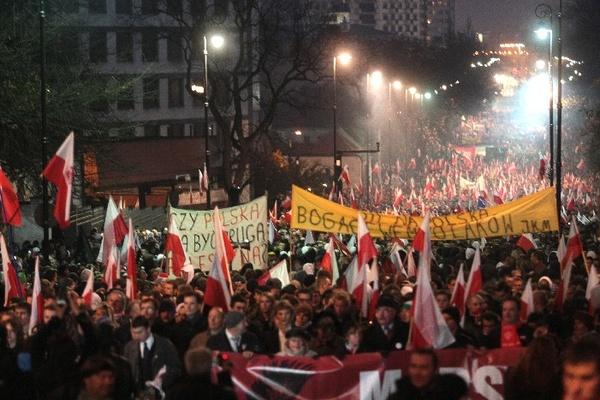 Marsz Niepodległości 11 11 11