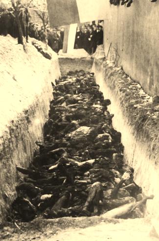 Masakra w więzieniu na Radogoszczu - zwłoki