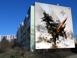 Mural Żołnierze Wyklęci - Gdańsk