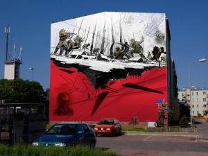 Mural Żołnierze Wyklęci - Ursynów