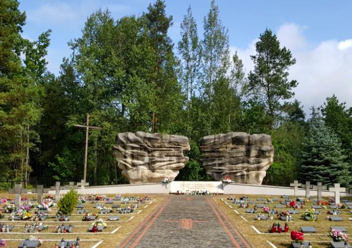 Pacyfikacja wsi Skłoby - Cmentarz