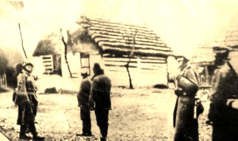Pacyfikacja wsi Skłoby - Niemcy