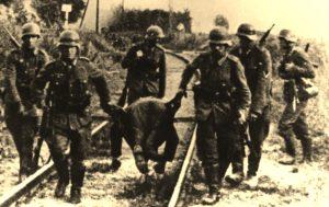 Pacyfikacja wsi Torzeniec - atak Niemców