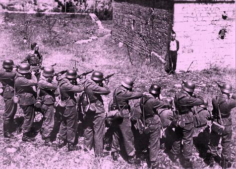 Pacyfikacja wsi Zimnowoda i Parzymiechy-egzekucja