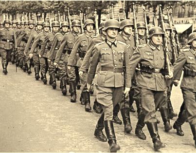 Pacyfikacja wsi Zimnowoda i Parzymiechy-Wehrmacht