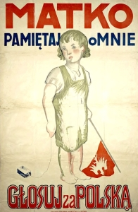 Plebiscyt śląski plakat