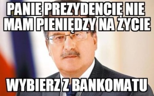 Prezydent Bronisław Komorowski radzi