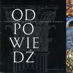 """Przemysław Gintrowski - """"Odpowiedź"""""""