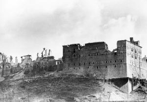 Ruiny klasztoru na Monte Cassino