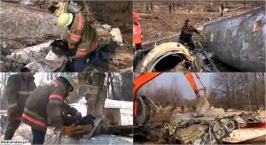 Smoleńsk - Rosjanie niszczą wrak