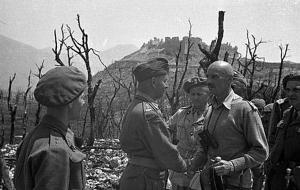 Władysław Anders na Monte Cassino