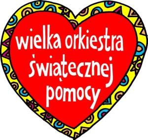 Logo Wielkiej Orkiestry Świątecznej Pomocy (WOŚP)