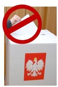 Nie musisz iść na wybory!