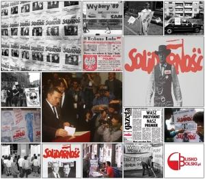 Wybory 4 czerwca 1989 roku Grafika