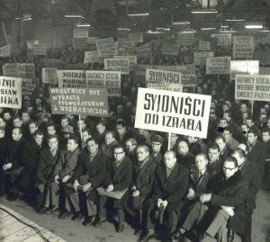 Wydarzenia marcowe Kampania antysemicka