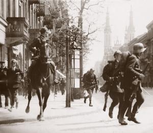 Zamach majowy - walki w Warszawie