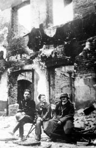 Żołnierze plutonu NSZ Sikora w Powstaniu warszawskim